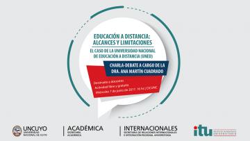 Experta española dará charla debate sobre Educación a Distancia