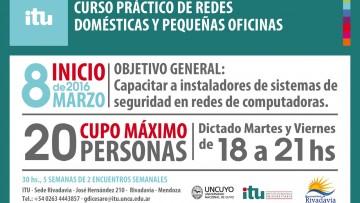Se dictará un curso gratuito de Redes domésticas y Pequeñas oficinas en Rivadavia