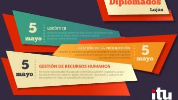 Comenzarán diplomados en Logística, Gestión de la Producción y Recursos Humanos en Sede Luján