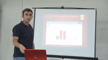 Jean- Marie Izquierdo presentó la logística empleada en Europa