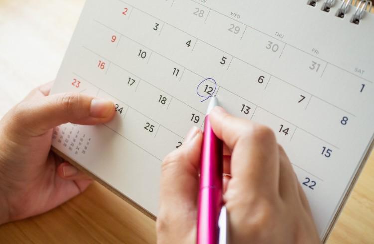 Calendario Académico para el primer semestre de 2020