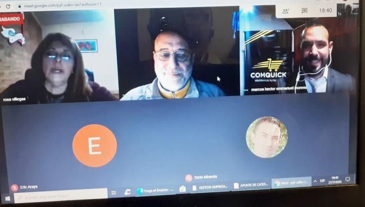 Marcos Moreno expone su proyecto COMQUICK