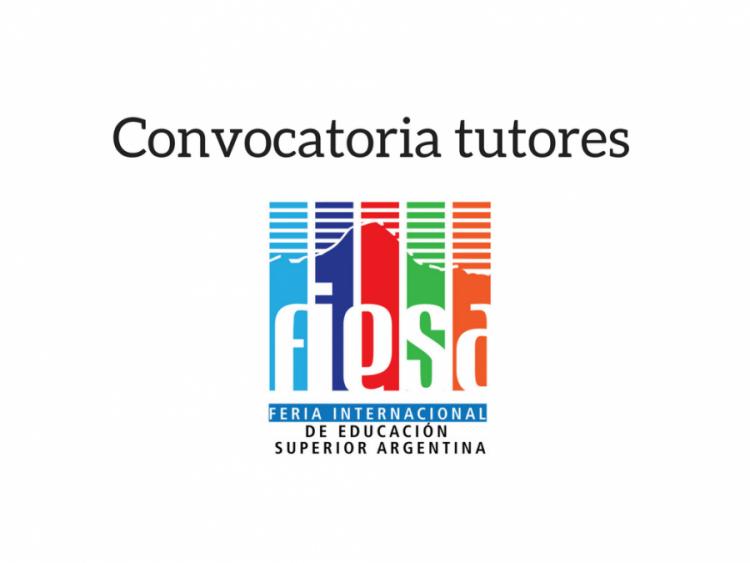 Convocatoria de tutores para FIESA 2018