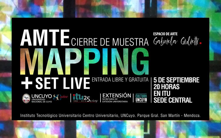 El nuevo espacio de arte del ITU finalizará su muestra con video mapping y set live