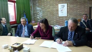 Se firmó convenio con  el Foro Diplomático de Mendoza