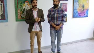 """""""Flor Delirio - Artistas Genias"""" inauguró su muestra en el ITU"""