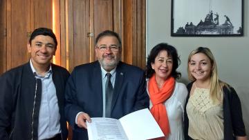 El ITU recibió reconocimiento de la Municipalidad de Godoy Cruz