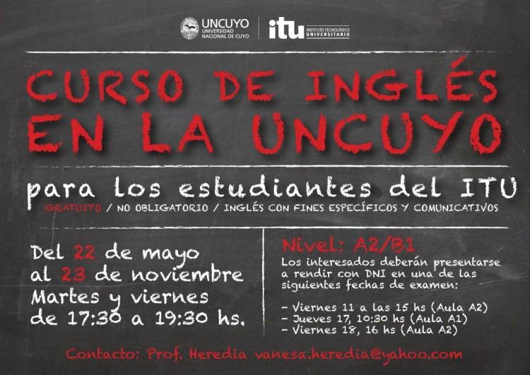 Curso de Inglés  para estudiantes de Sede Luján