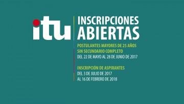 Están abiertas las inscripciones a las carreras del ITU