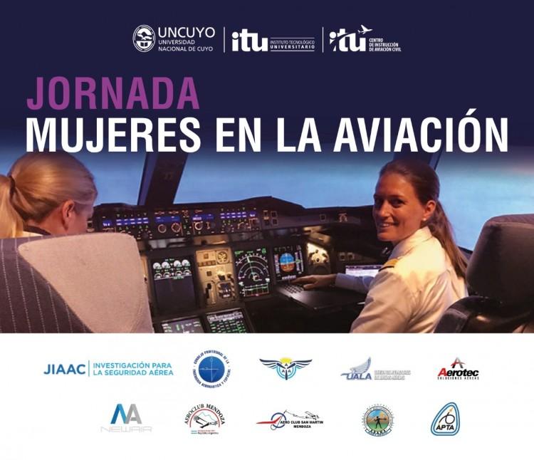 """Jornada """"Mujeres en la aviación"""""""