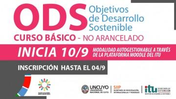 """Nuevo curso virtual  """"Acercándonos a los ODS"""""""