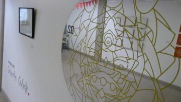 Se inauguró un espacio de arte en el ITU