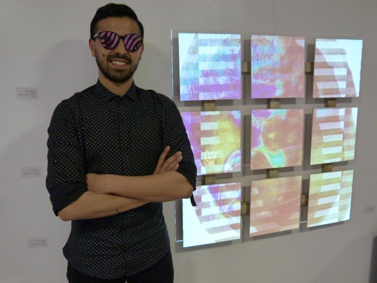 Entre sonido e imágenes cerró la primera muestra de arte en el ITU