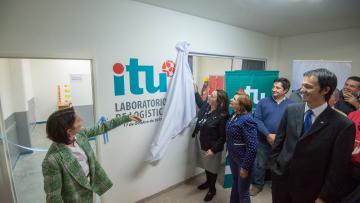 Se inauguró el Laboratorio de Logística en Sede Luján