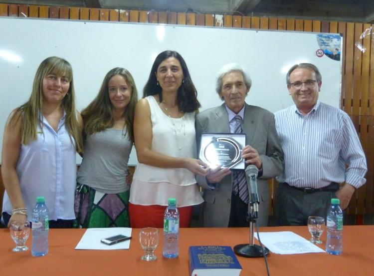 Homenaje al Ing. José Biurriarena