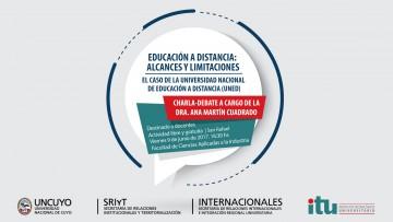 Charla debate sobre Educación a Distancia en San Rafael