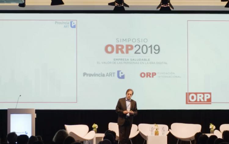 """Docentes y estudiantes del ITU participaron del Simposio ORP  Conference 2019 Mendoza """"Empresa Saludable: El Valor de las Personas en la Era Digital"""""""