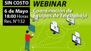 WEBINAR: Coordinación de Equipos de Teletrabajo