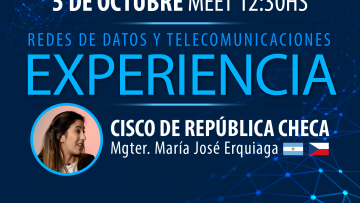 """María José Erquiaga: """"El ITU es la plataforma de despegue para tu carrera"""""""