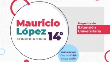 """Inscripciones abiertas para la 14ta Convocatoria de """"Proyectos Mauricio López"""""""