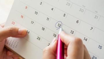 Calendario Académico 2021 - 2° semestre