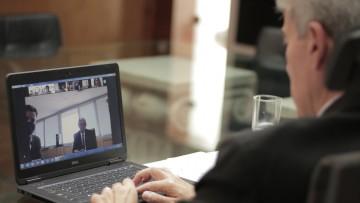 Los rectores de la UTAGS y de la UNCuyo renuevan sus proyectos de cooperación